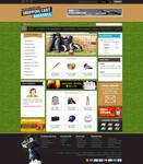 Baseball shopping cart