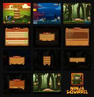 Ninja Squirrel Game