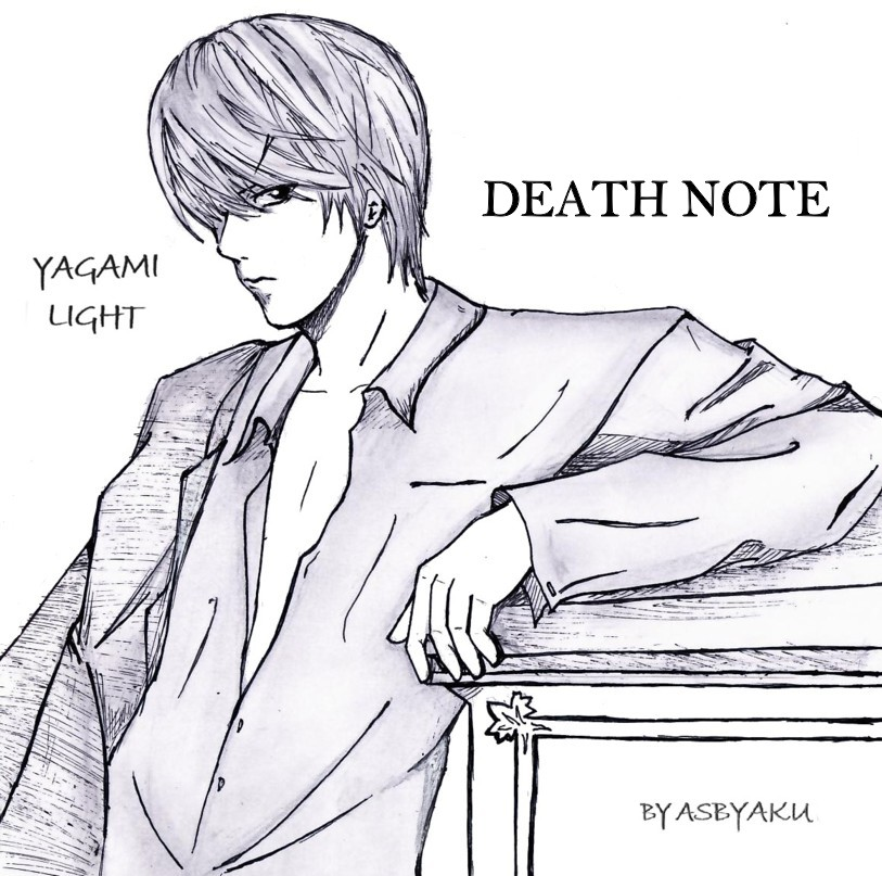 Image Result For Death Note Coloring