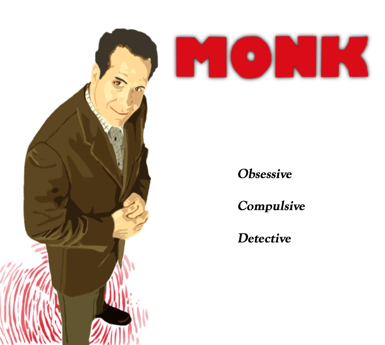 """adrian monk Magnificent obsession """"monk"""" begins its second season by nancy franklin  adrian monk is a kind of private investigator of our own flaws and sadnesses, ."""