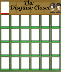 Disguise Closet Template/with Owner Box