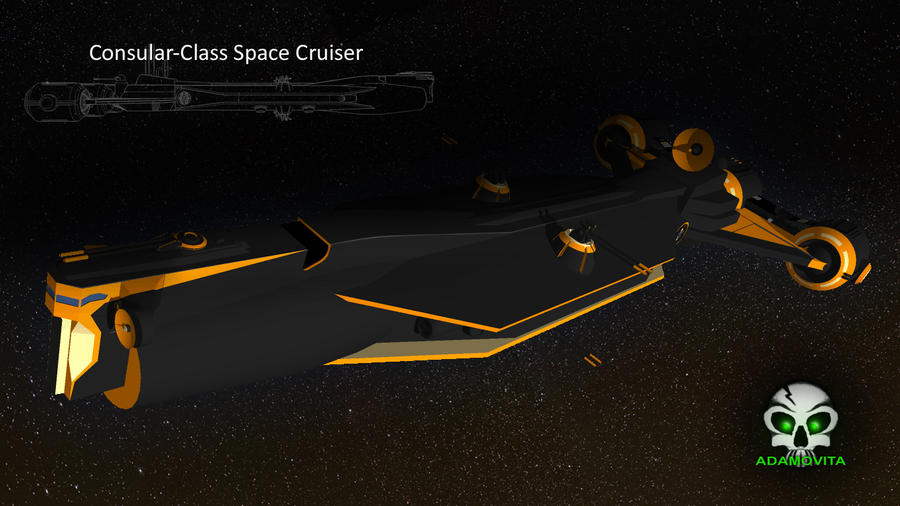 Consular class space cruiser by adamovita 71 on deviantart for Who is a consular