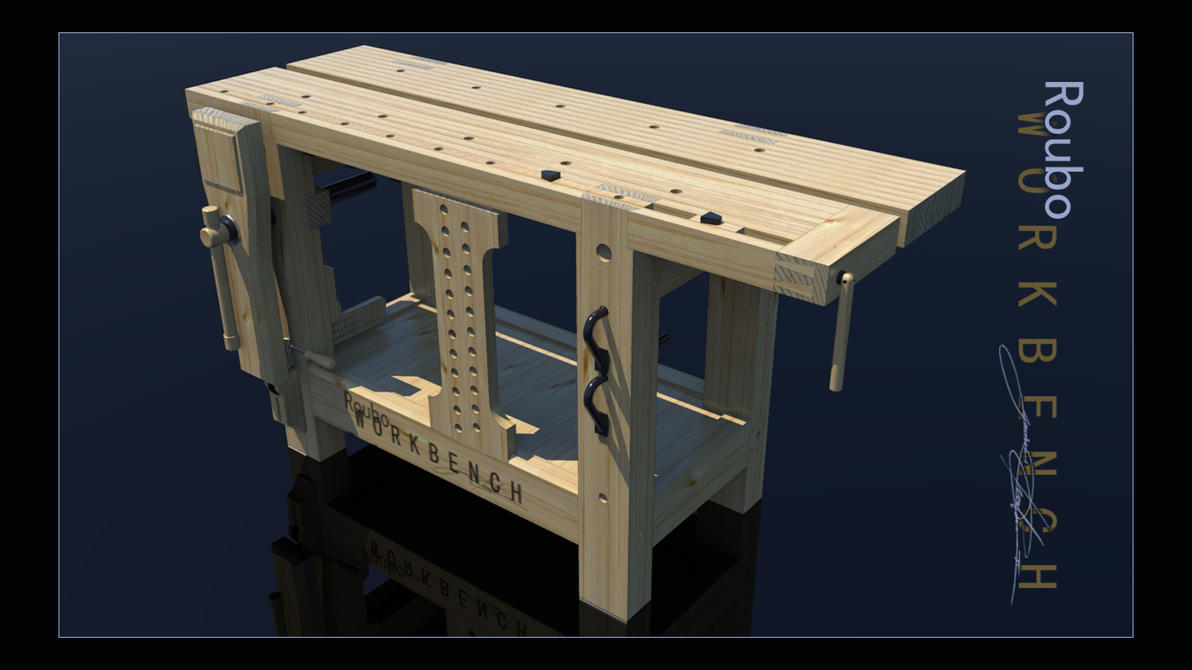 My Roubo-Style Workbench by adamovita-71 on DeviantArt