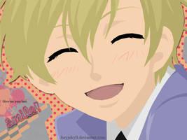 Best Smile - Tamaki wall by JuryJekyll