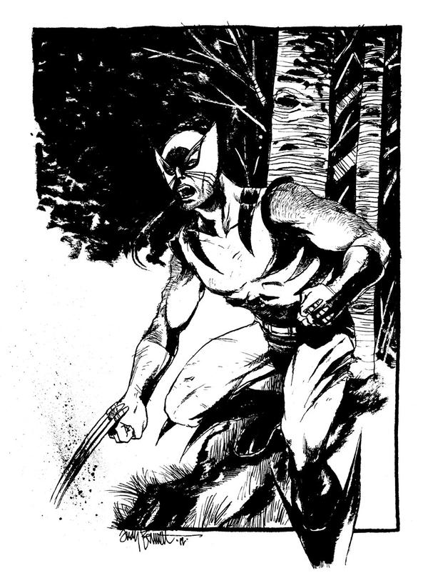 Commission - Wolverine by B3NN3TT