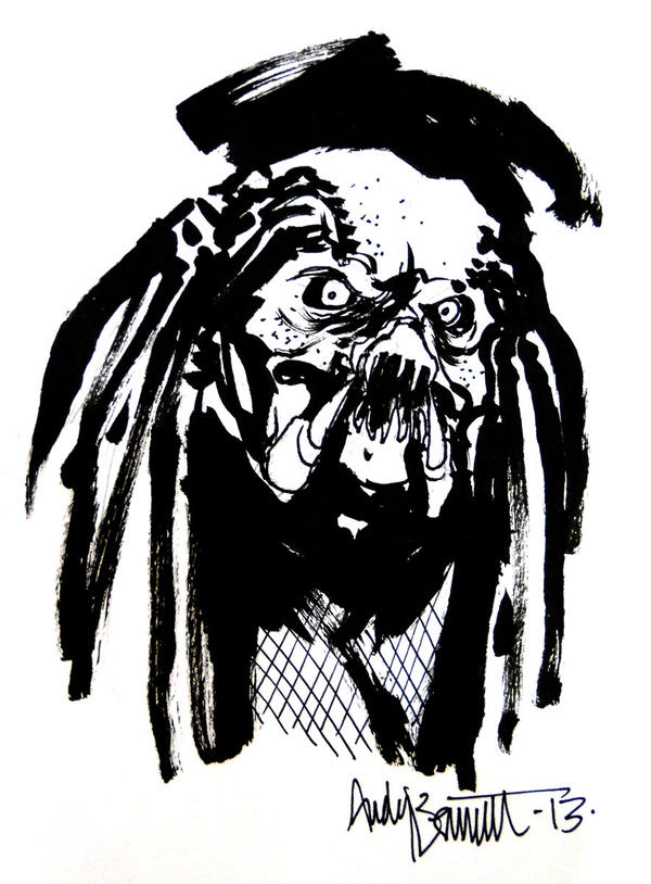 Sketch - Predator by B3NN3TT