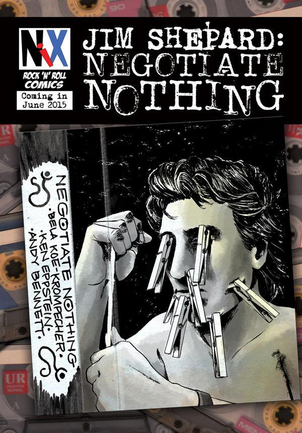Jim Shepard: Negotiate Nothing by B3NN3TT