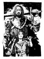 The Hound and Arya Stark