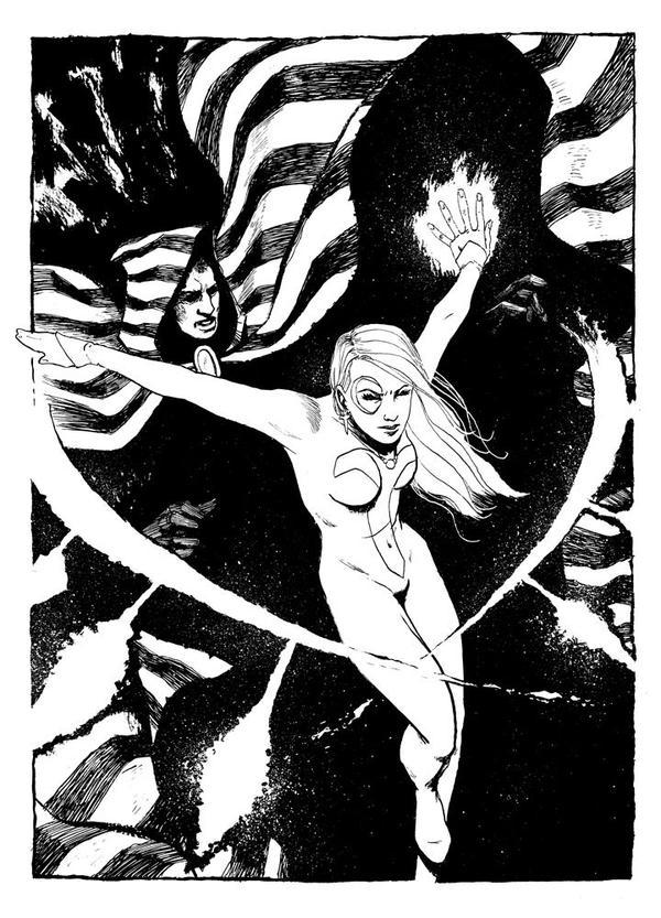 Commission - Cloak and Dagger by B3NN3TT
