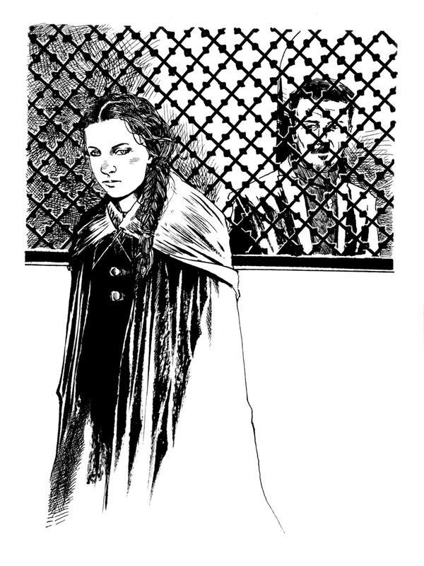 Con sketch: Sansa Stark by B3NN3TT