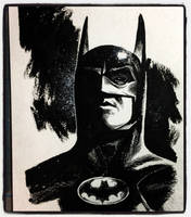 #Inktober 2017 #7 - Batman by B3NN3TT