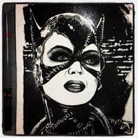 Inktober 2017 #10 - Catwoman by B3NN3TT