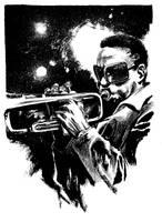 Commission: Miles Davis by B3NN3TT