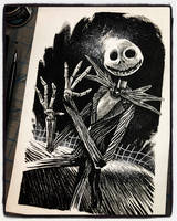 Inktober 2018 Day VI - Jack Skellington by B3NN3TT