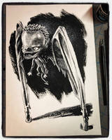 Inktober 2018 Day XIX - Bat Boy by B3NN3TT