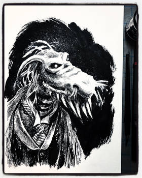 Inktober 2019 Day 30 - Uncle Deadly
