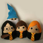 Harry Potter and Pals Plushies