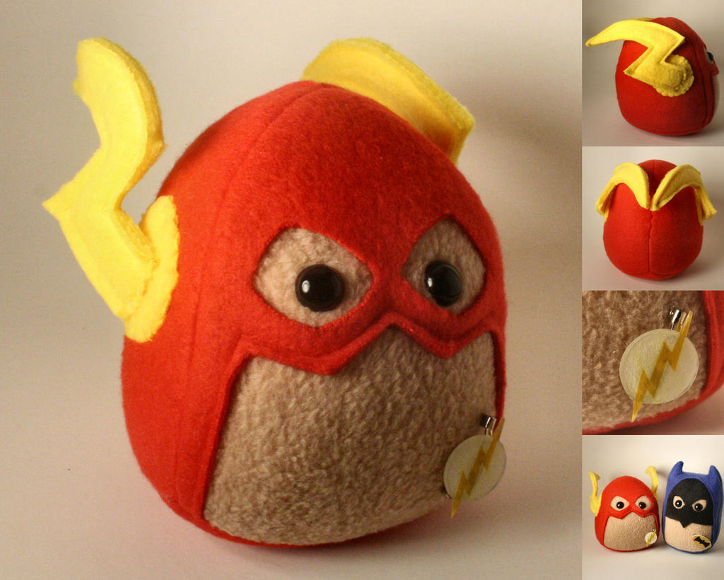 The Flash Plushie