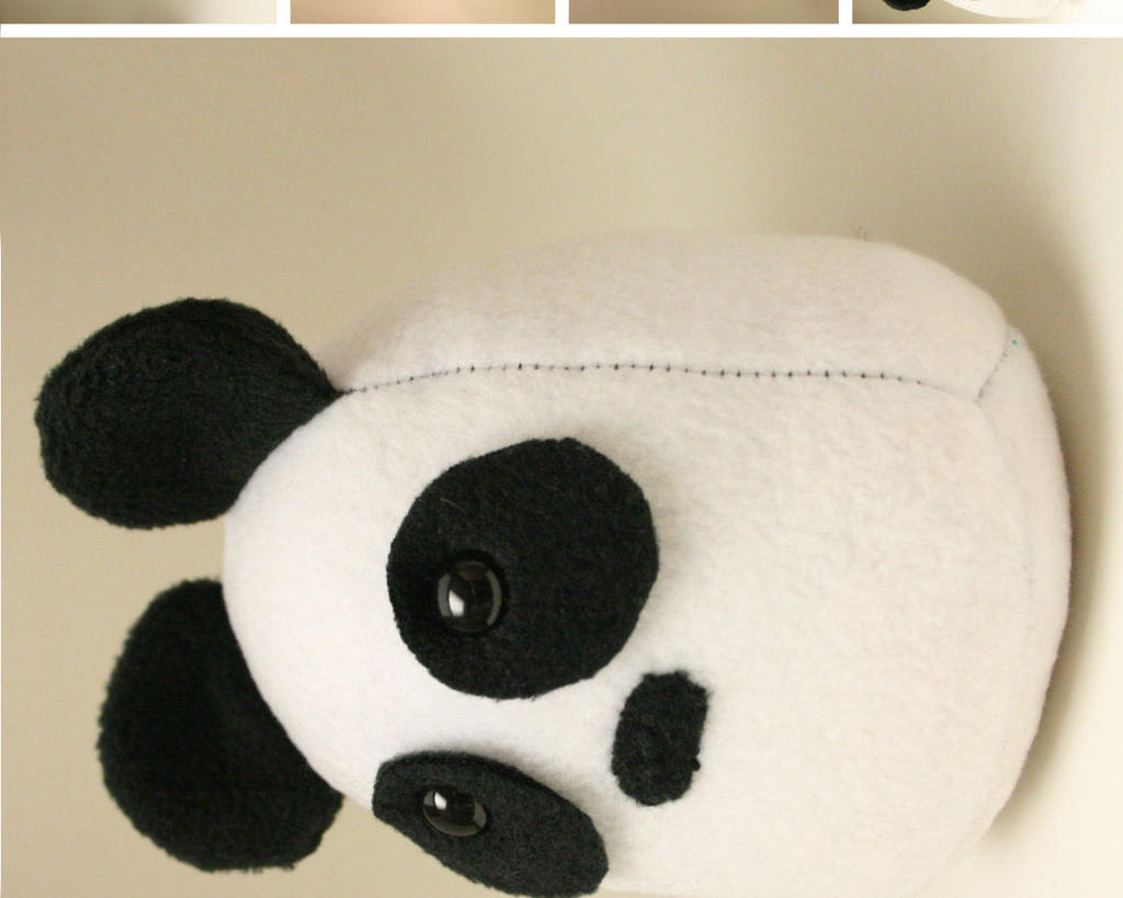 Panda Bear Plushie by Saint-Angel