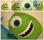 Green Monster Plushie