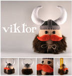 Viktor the Viking Plushie