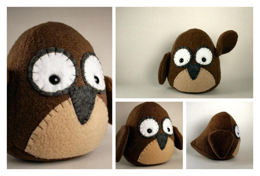 Owl Plushie by Saint-Angel