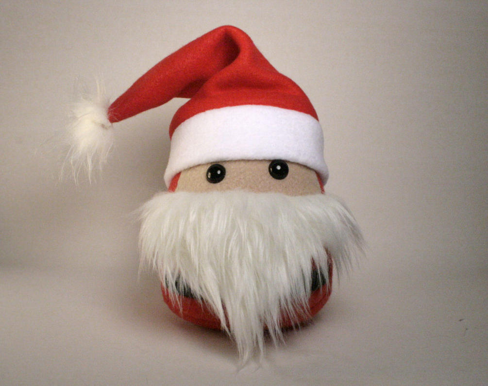 Santa Claus Plushie by Saint-Angel