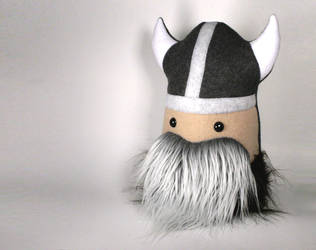 Erik the Elder Viking Super Warrior Large Plushie by Saint-Angel
