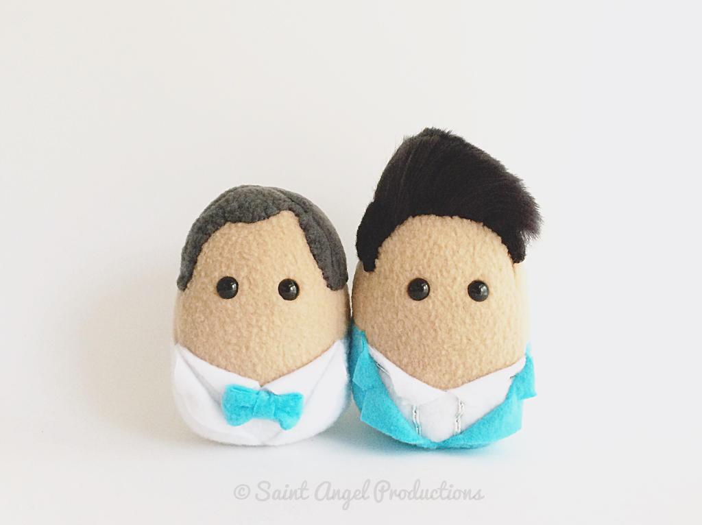 Custom Mini Groom and Groom Wedding Decor by Saint-Angel
