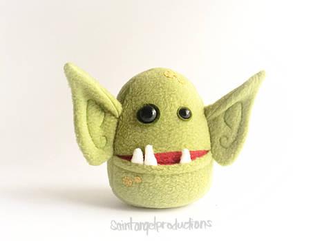 Stuffed Green Goblin Plush, Plushoween