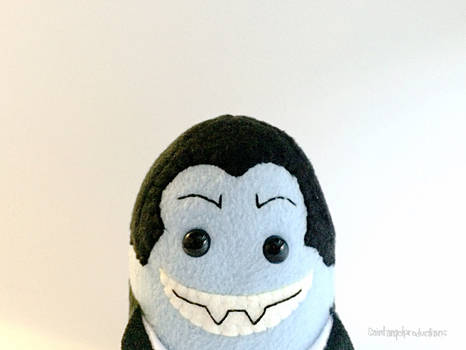 Stuffed Vampire Plushie, Plushoween