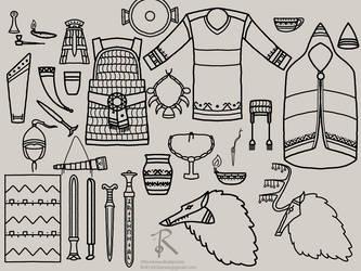 Akerric Sketch Dump I by Ofbooksandballpoints