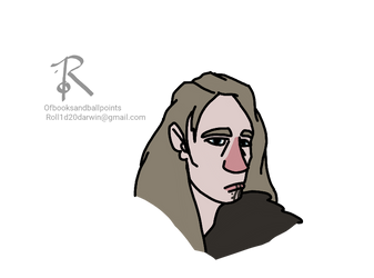 Atheng Woman by Ofbooksandballpoints