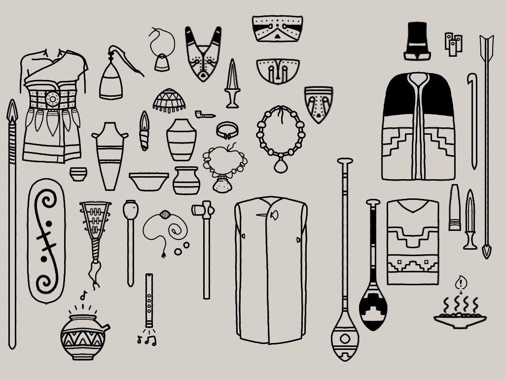 Early Oceanic Denic Doodle Dump by Ofbooksandballpoints