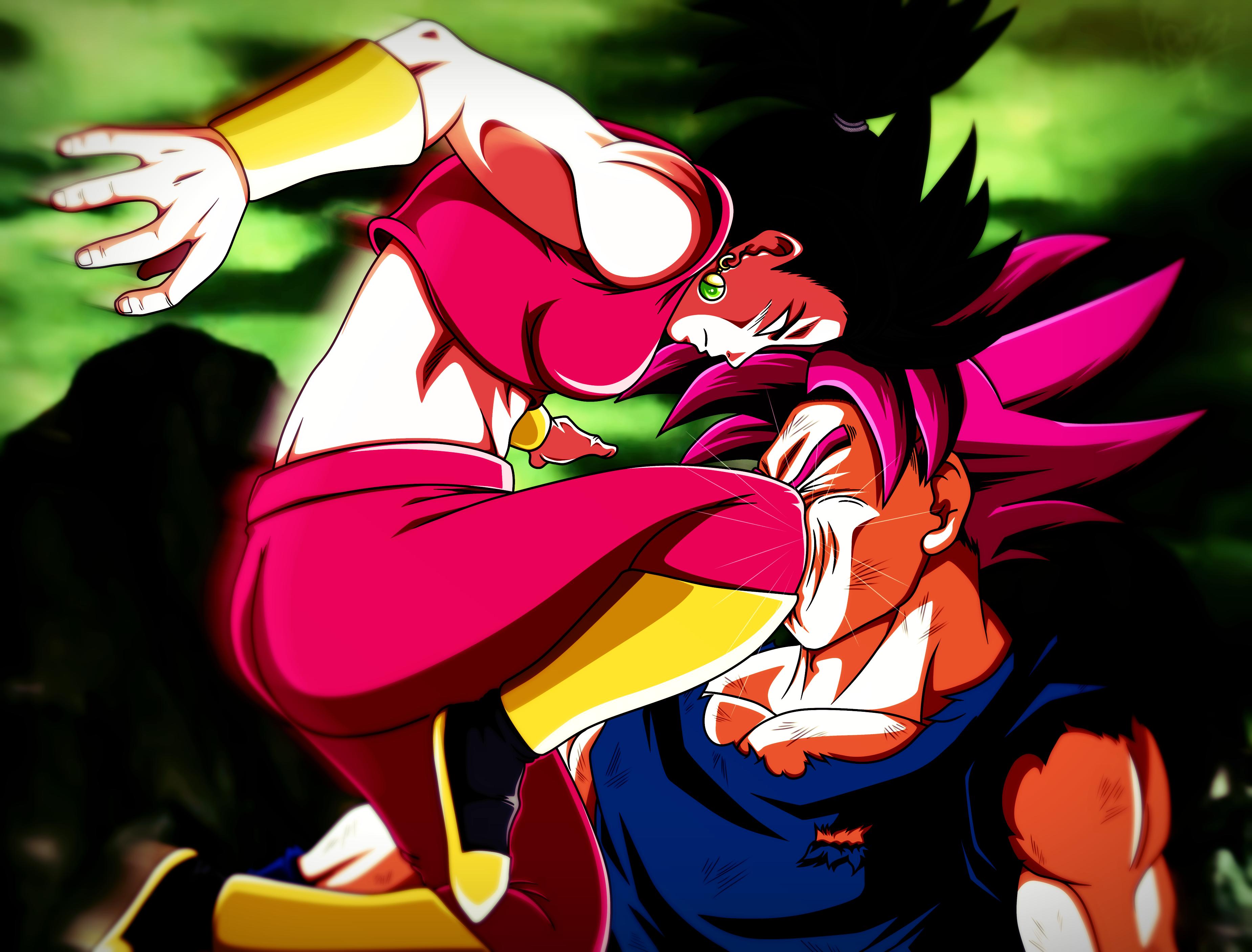 Kefla Vs Goku By Secrethet On Deviantart