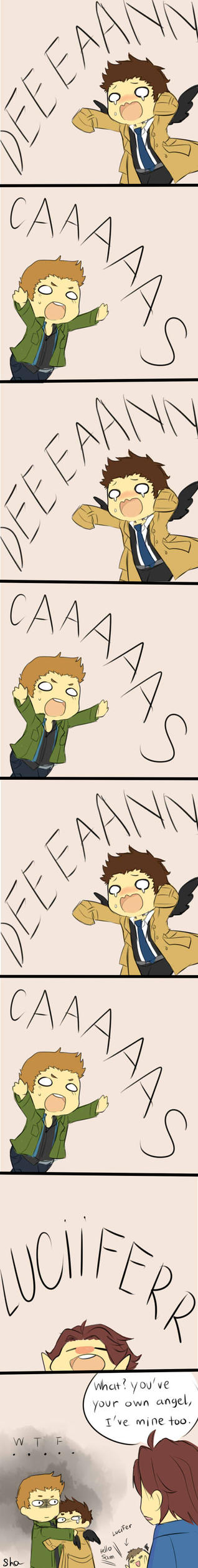 Destiel Strip 2 by ShaYepurr