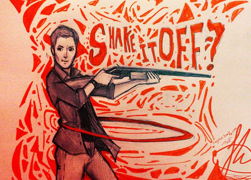 Shake It Off by Fel-Fisk