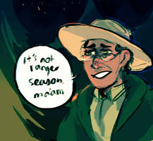 a v calm response to having a shotgun fired at you by Fel-Fisk