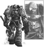 Death Watch Captain Mordegai