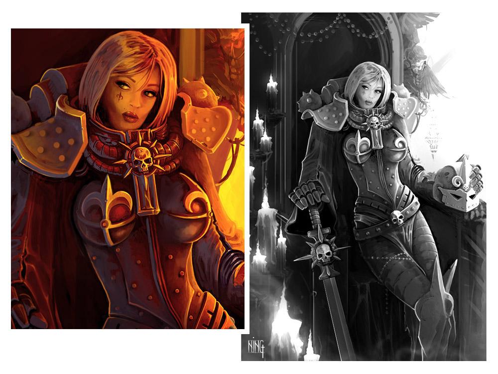l'inquisition et son bras armé - Page 2 Sister_silencia_by_ning-d3eztea