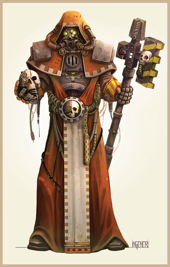 Mechanicus Enginseer by ning