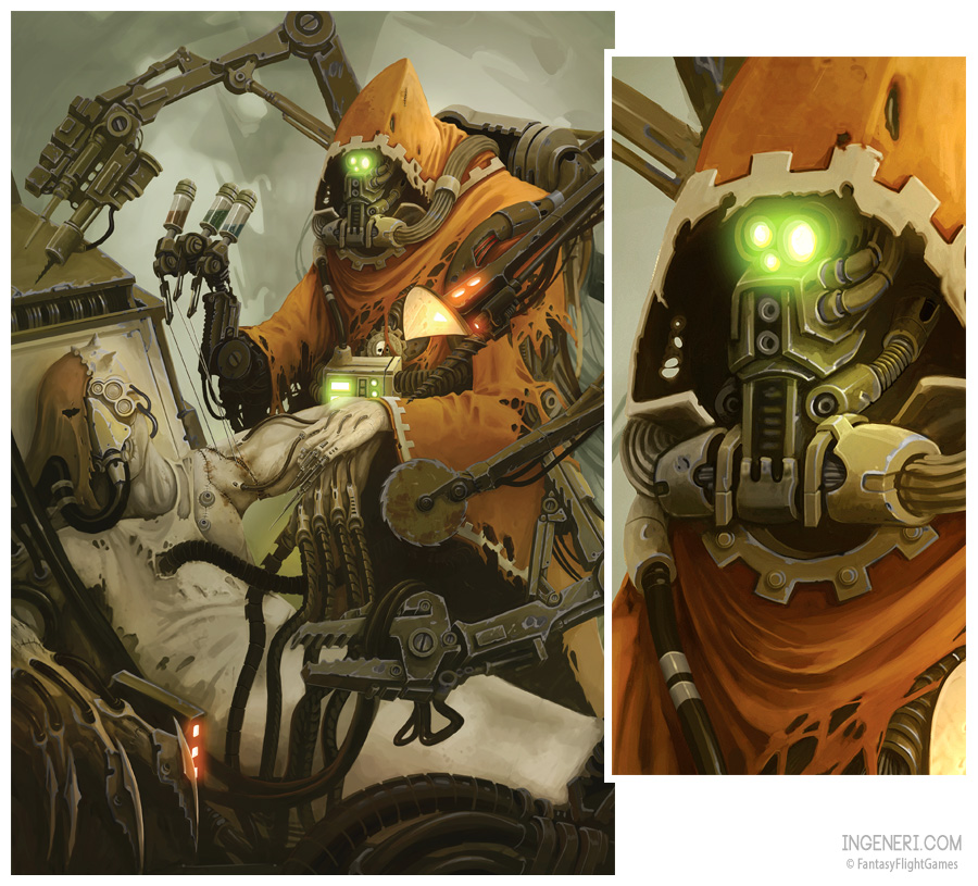 [W40K] Collection d'images : Adeptus Mechanicus The_surgeon_by_ning-d5hx58r