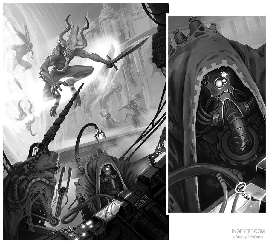 Dark Mechanicus by ning