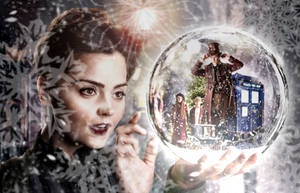 Doctor Who The Snowmen Banner by RoseSwan