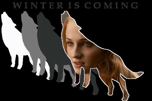 Sansa Stark Banner by RoseSwan