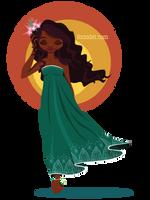 Caribbean Girl by forindet