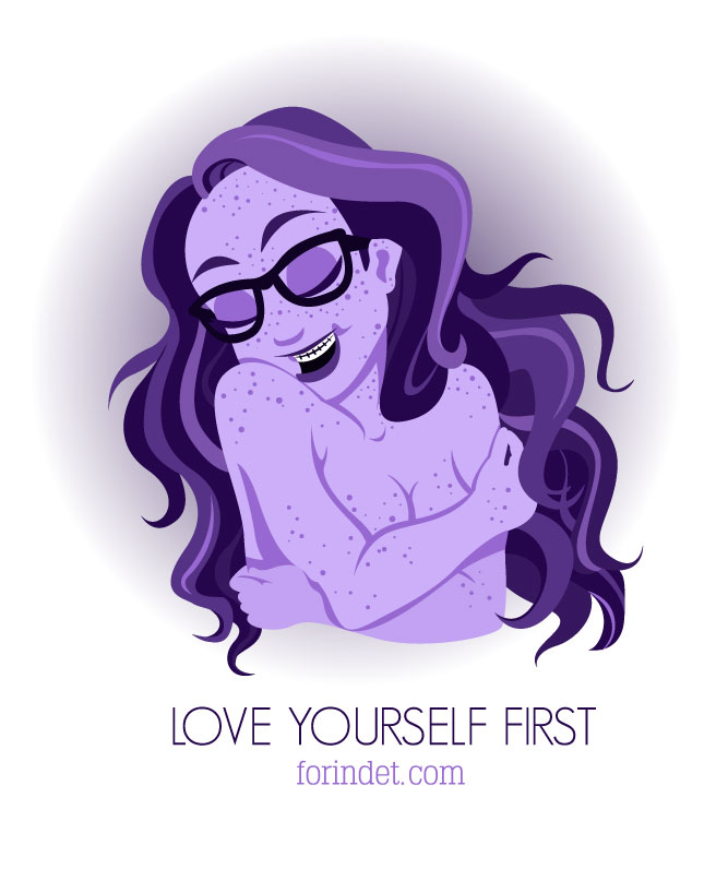 Love yourself first by forindet