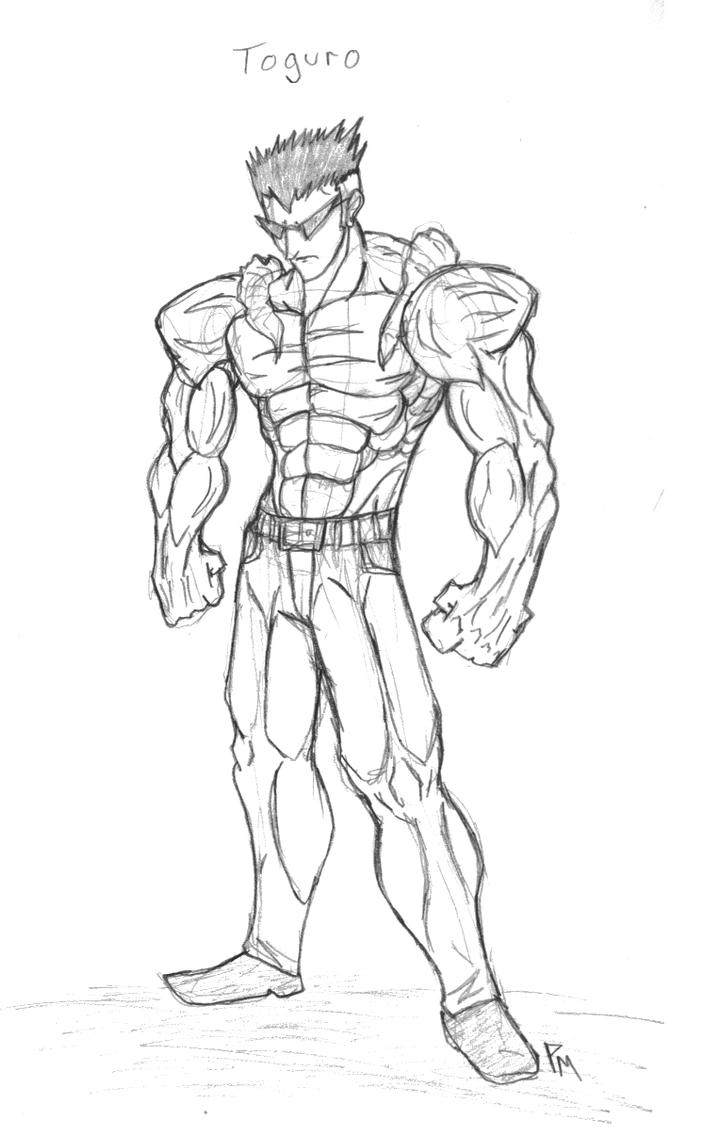 Toguro [sketch] by Tentionmaru