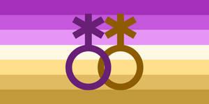 Lesbiangender/Lesbigender Redesign Symbol 2