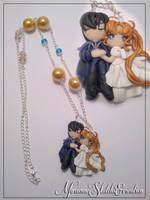 Endymion and Serenity Necklace by DarkettinaMarienne